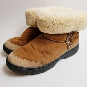 UGG Suede Ankle Boot F800fc